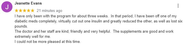 Weight Loss Gilbert AZ Patient Testimonial
